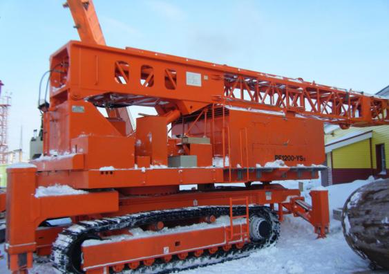 Буровая установка PF-1200 с механизмом качания