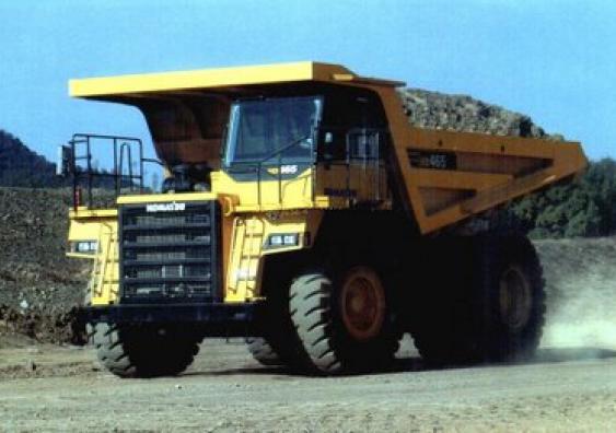 Самосвал HD465-7